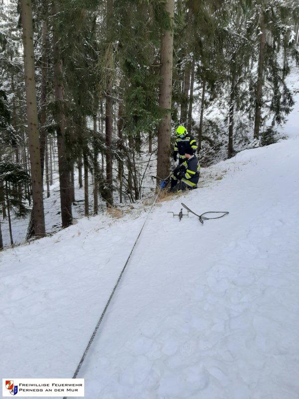 Technischer Einsatz vom 08.01.2021     (C) Feuerwehr Pernegg an der Mur (2021)