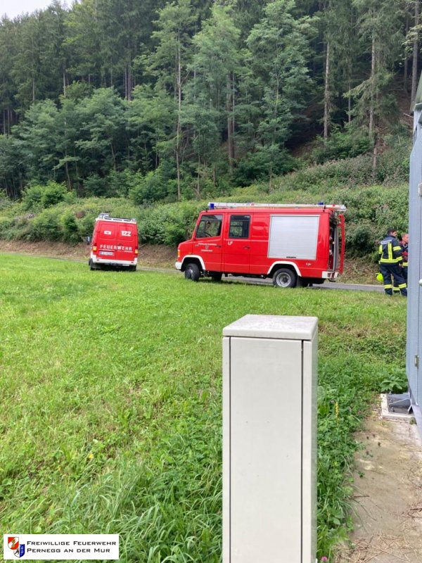 Technischer Einsatz vom 30.08.2021  |  (C) Feuerwehr Pernegg an der Mur (2021)